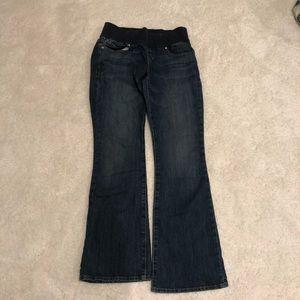 Gap Boot Cut Maternity Jeans Dark Wash Sz 10